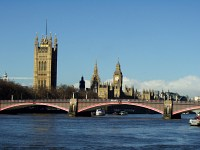 Lambeth Bridge and The Houses of Parliment