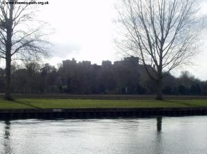 The first view of Windsor Castle